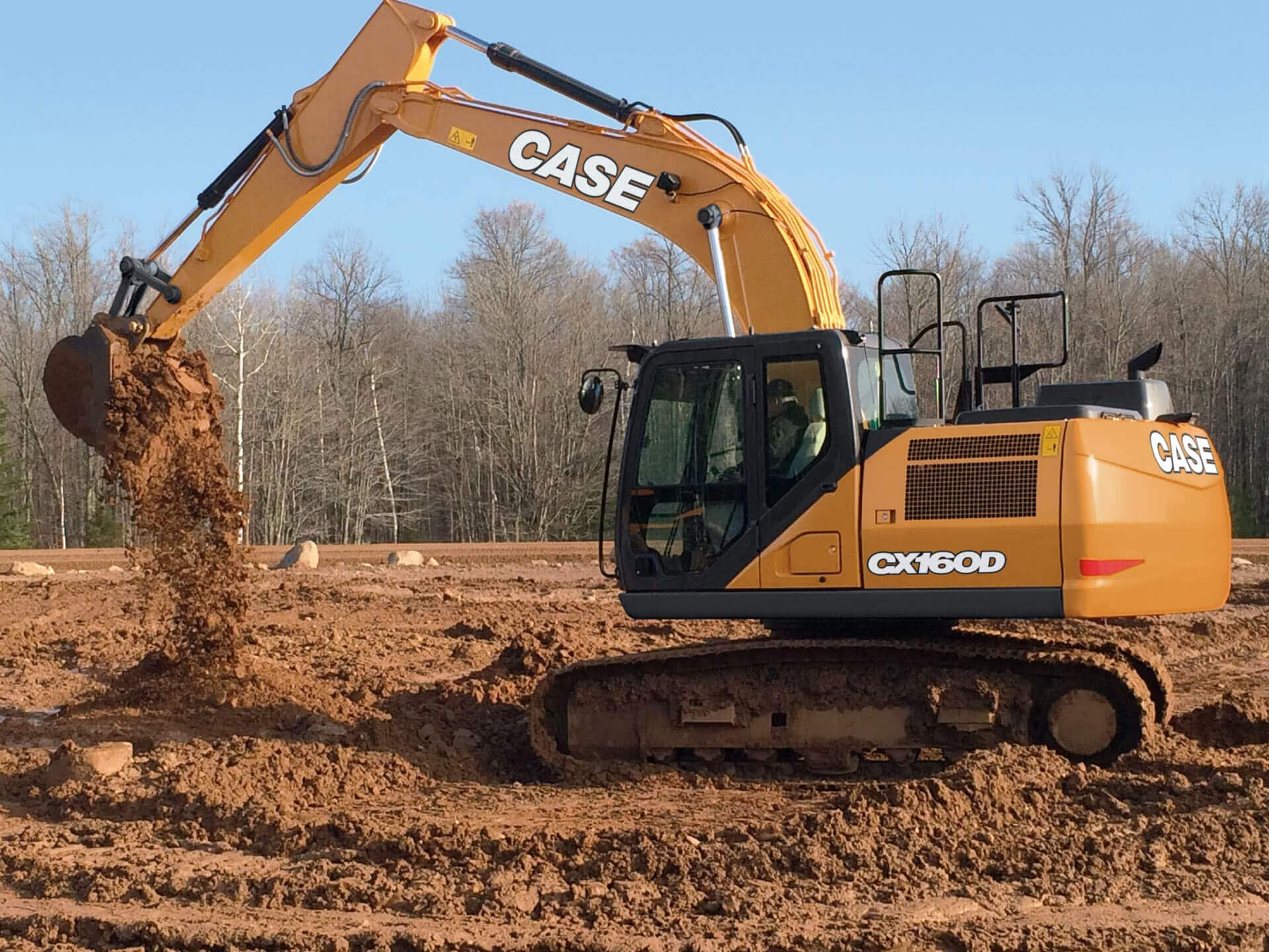 Volvo Dealers Nh >> CASE CX160D Excavator | CASE Construction Equipment