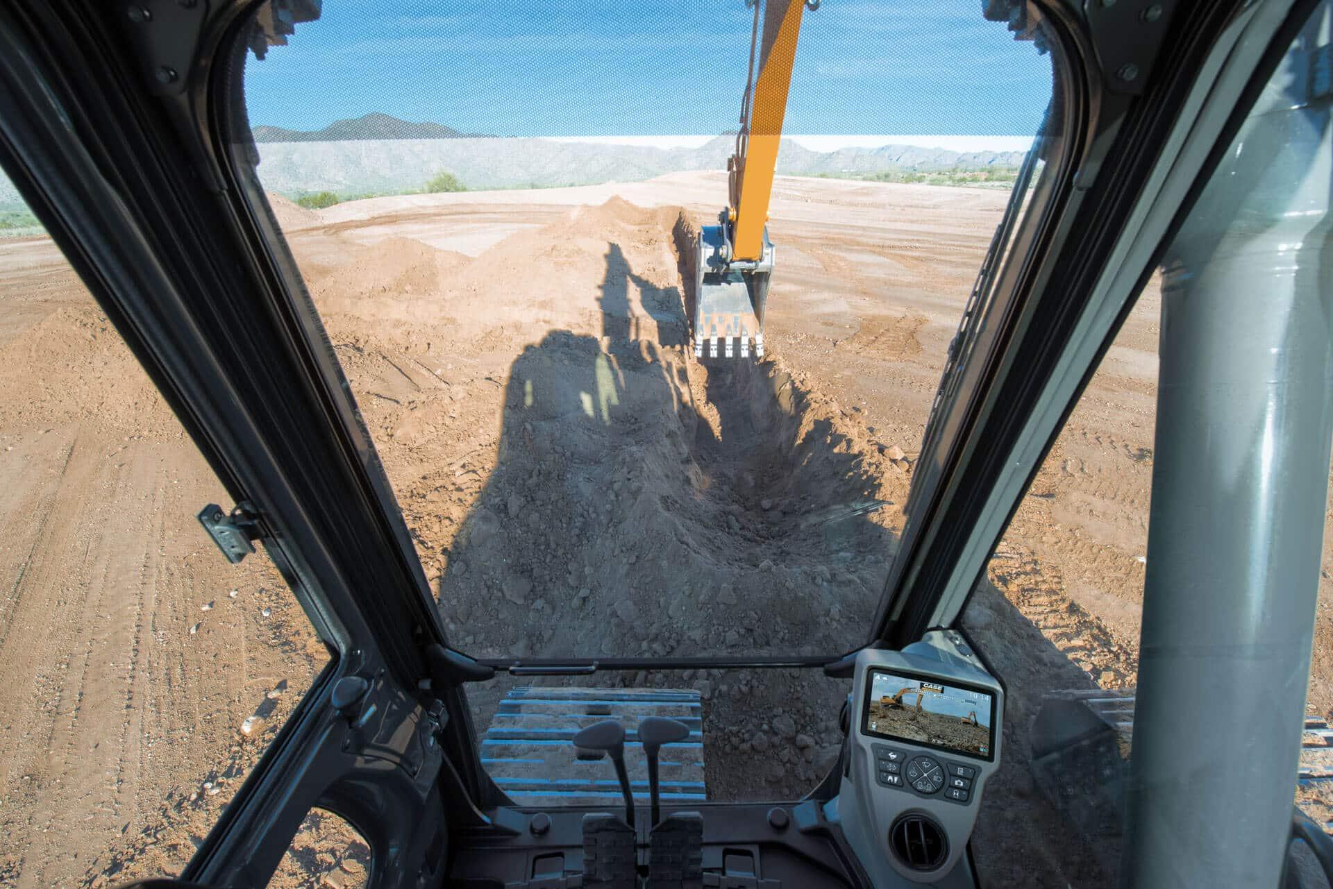 CASE CX210D Excavator | CASE Construction Equipment
