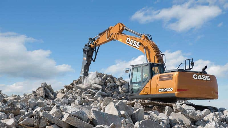CASE Excavators | CASE Construction Equipment