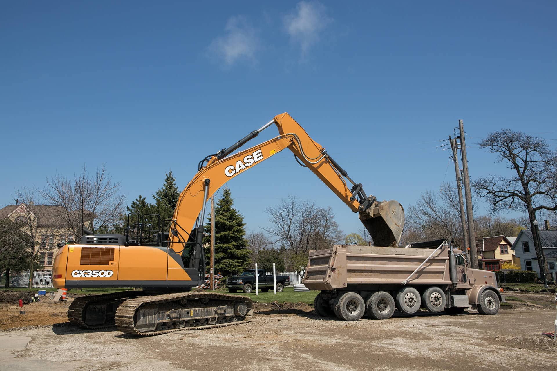 CASE CX350D Excavator | CASE Construction Equipment