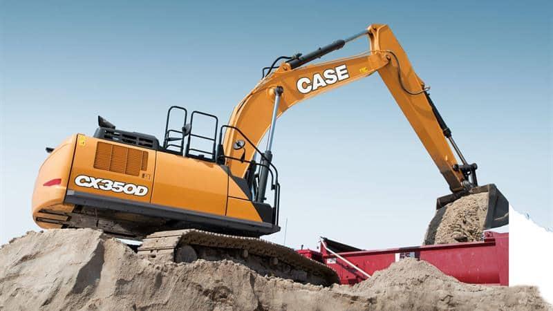 CASE CX350D Excavator | CASE Construction Equipment