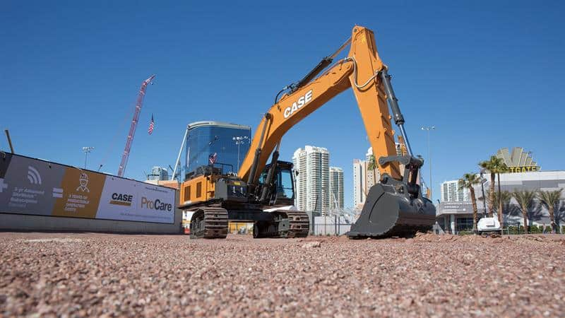 CASE CX750D Excavator | CASE Construction Equipment