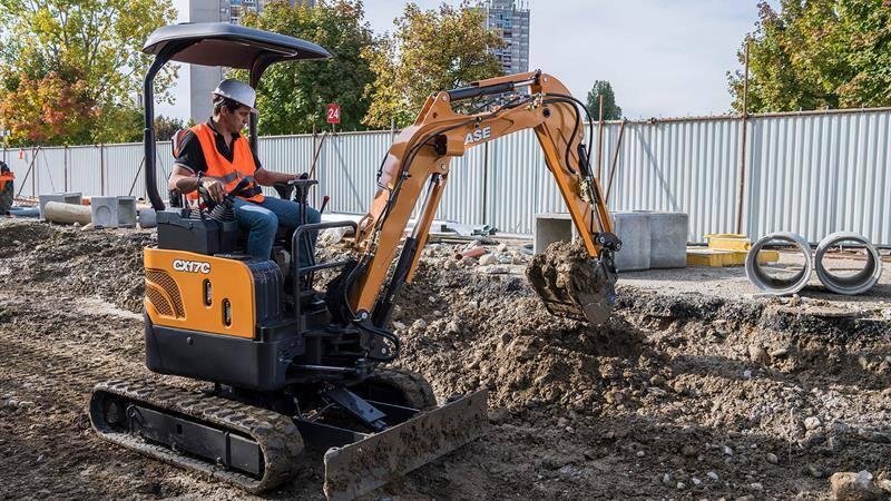 CASE CX17C Mini Excavator   CASE Construction Equipment