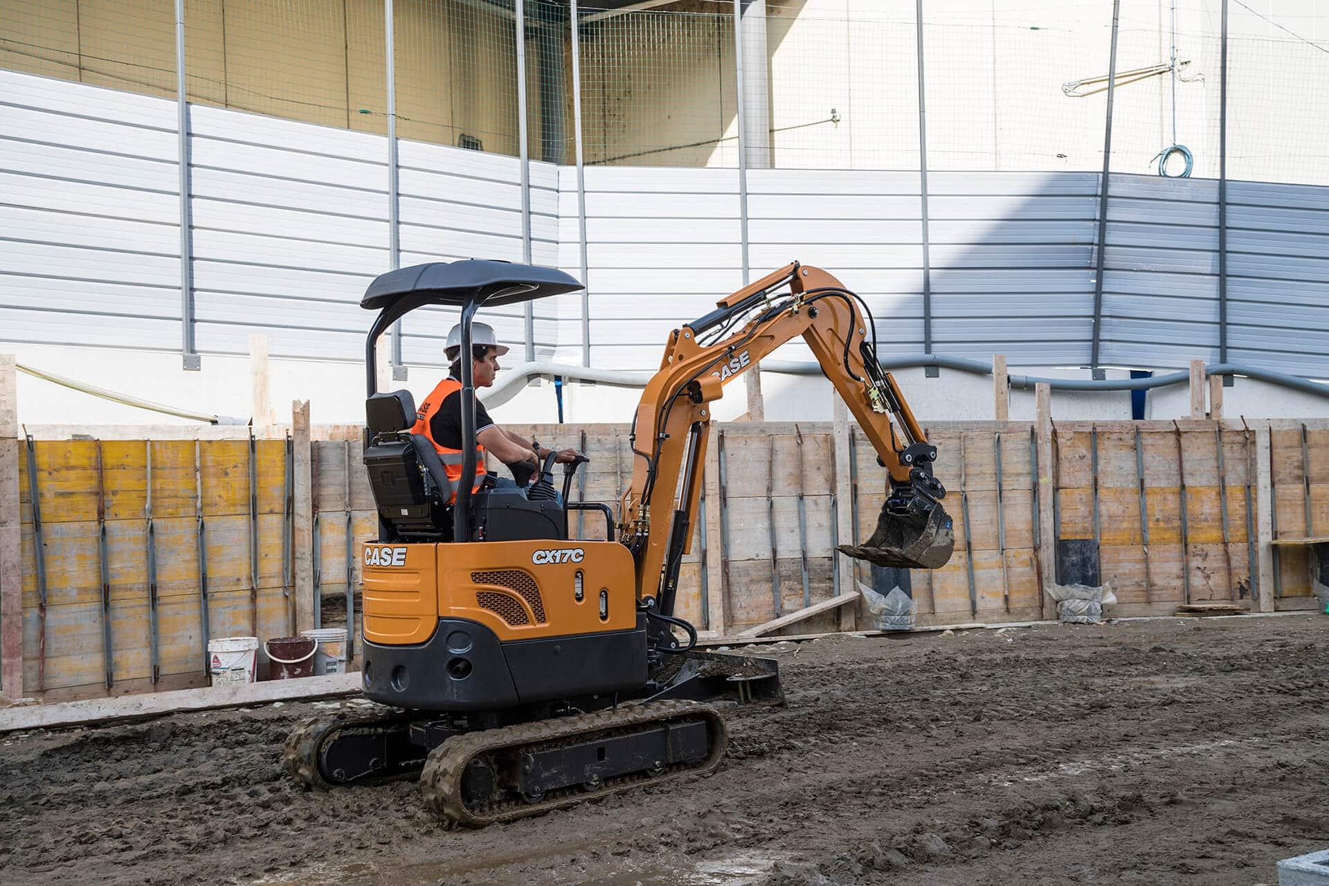 CASE CX17C Mini Excavator | CASE Construction Equipment