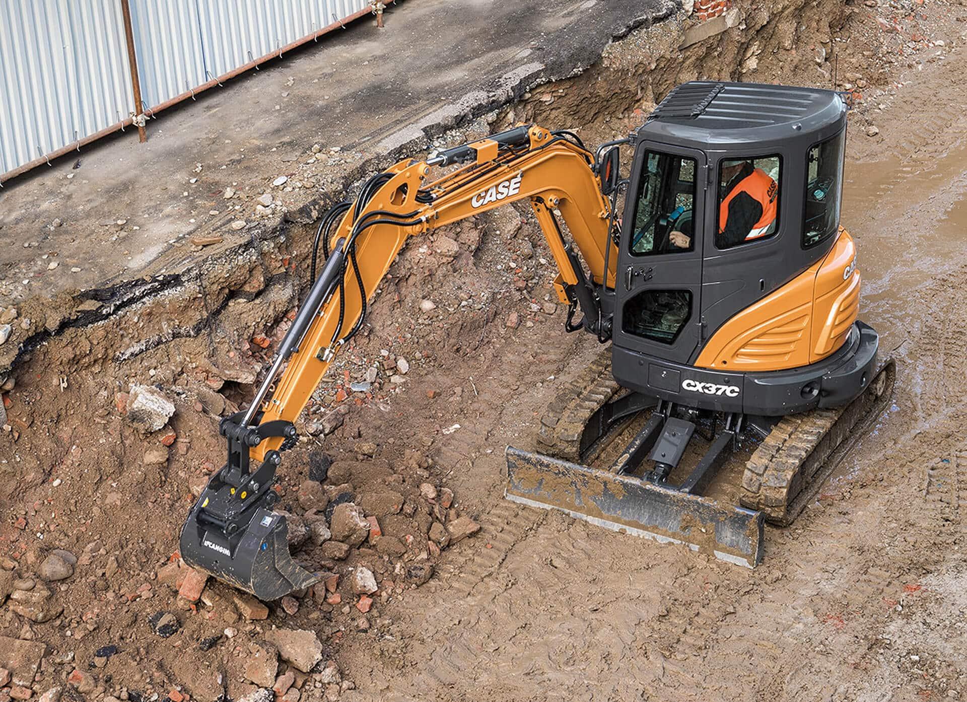 CASE CX37C Mini Excavator   CASE Construction Equipment