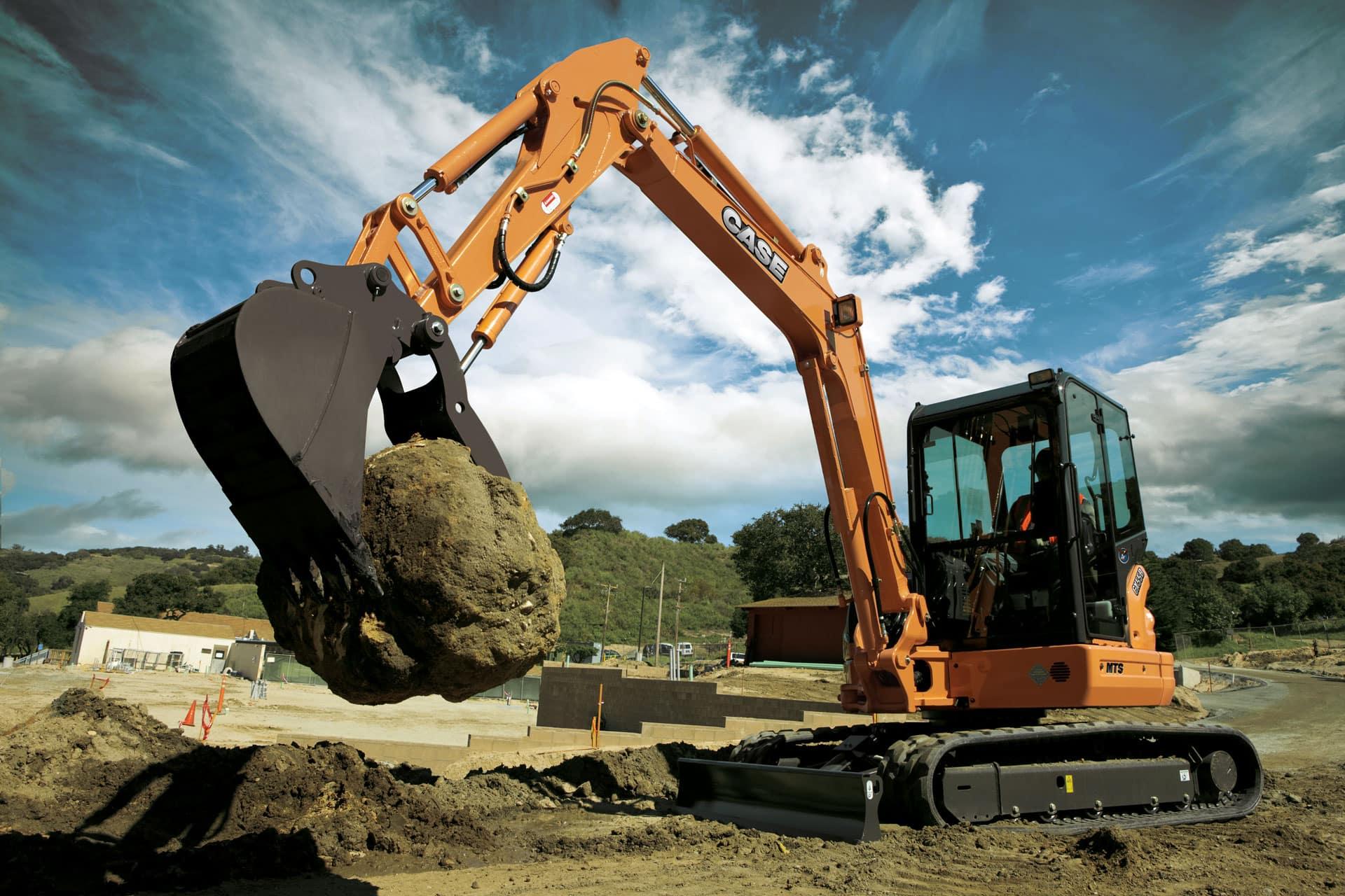 Case Cx55b Mini Excavator Case Construction Equipment