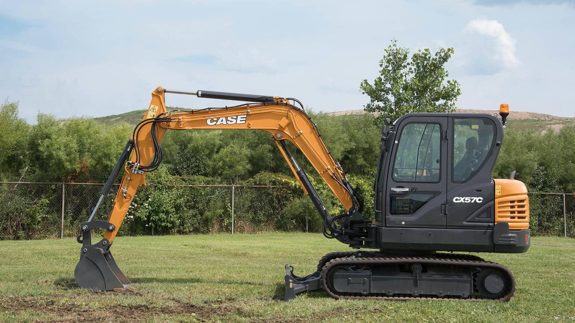 Used, 2019, Case Construction, CX57C, Excavators