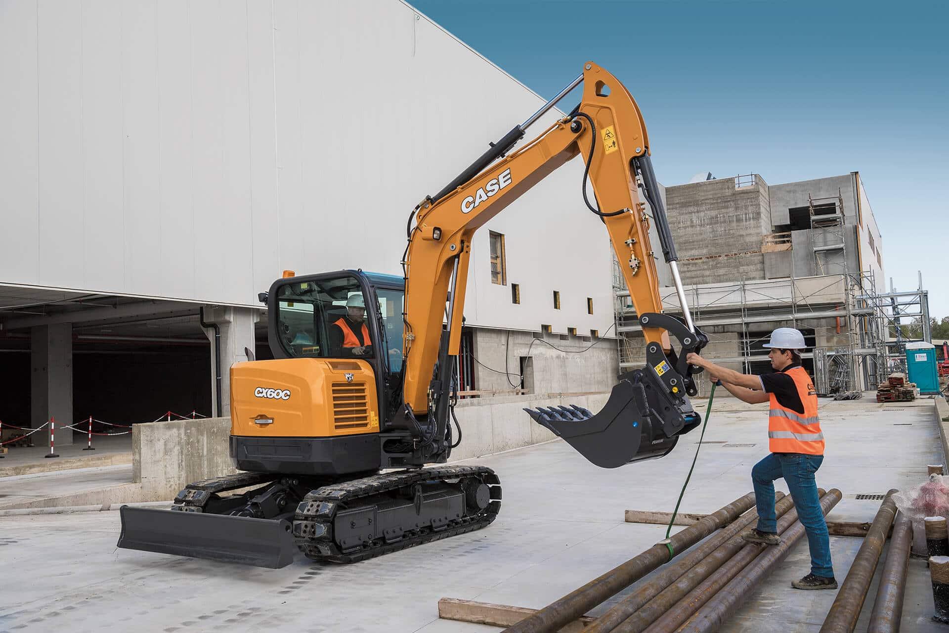 CASE CX60C Mini Excavator | CASE Construction Equipment