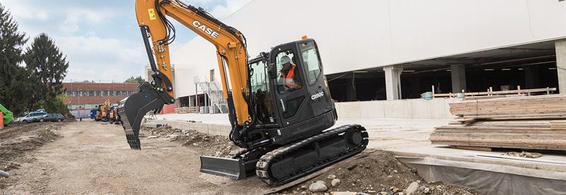 Mini Excavators | Compact Excavators | CASE Construction Equipment
