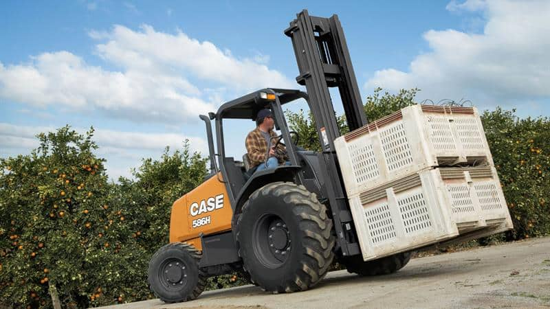 Rough Terrain Forklifts | CASE Construction Equipment