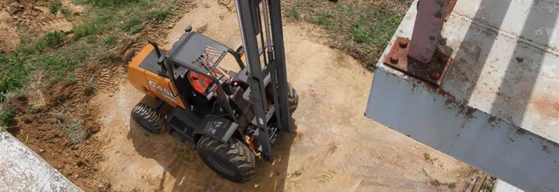 Rough Terrain Forklifts   CASE Construction Equipment