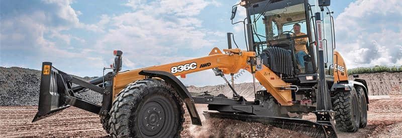 CASE Motor Graders | CASE Construction Equipment
