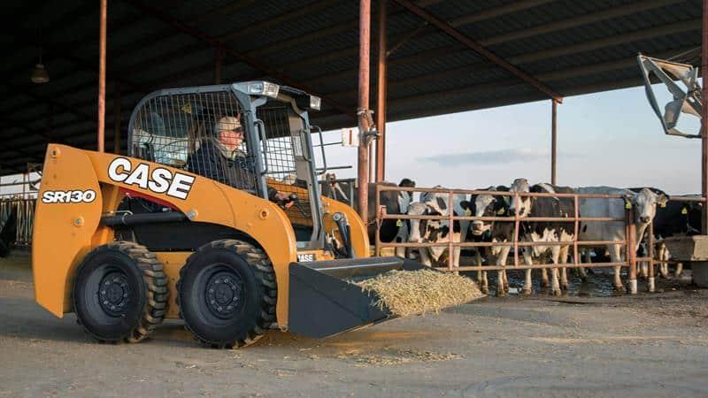 CASE SR130 Skid Steer Loader   CASE Construction Equipment