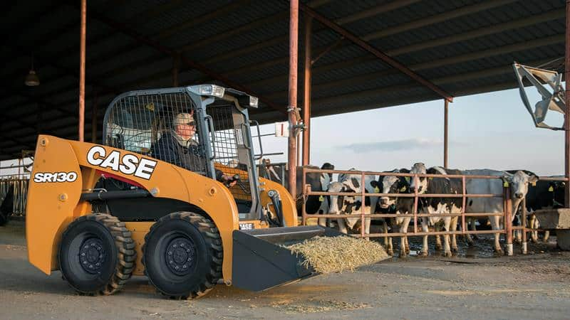 CASE SR130 Skid Steer Loader CASE Construction Equipment