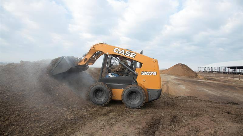 CASE SR175 Skid Steer Loader | CASE Construction Equipment