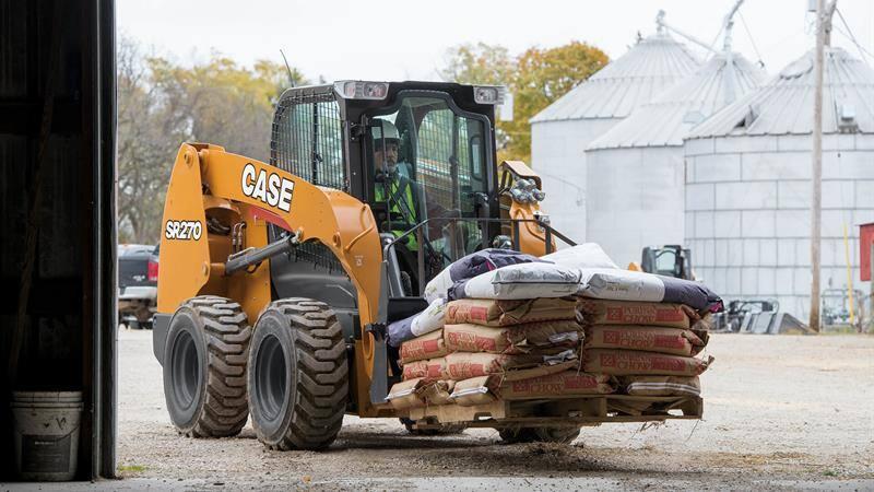 CASE SR270 Skid Steer Loader | CASE Construction Equipment