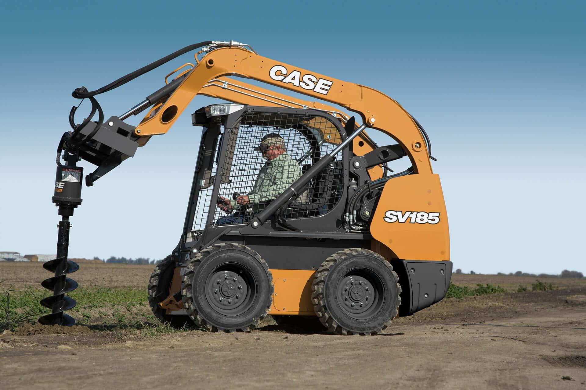CASE SV185 Skid Steer Loader | CASE Construction Equipment