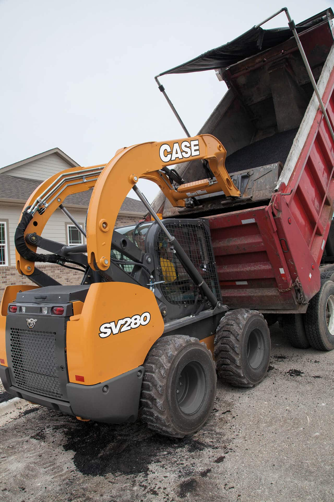 CASE SV280 Skid Steer Loader | CASE Construction Equipment