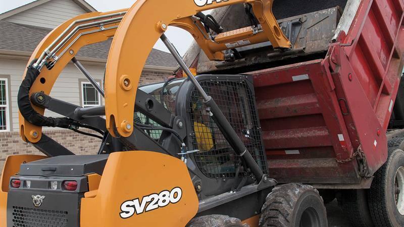 CASE SV280 Skid Steer Loader   CASE Construction Equipment