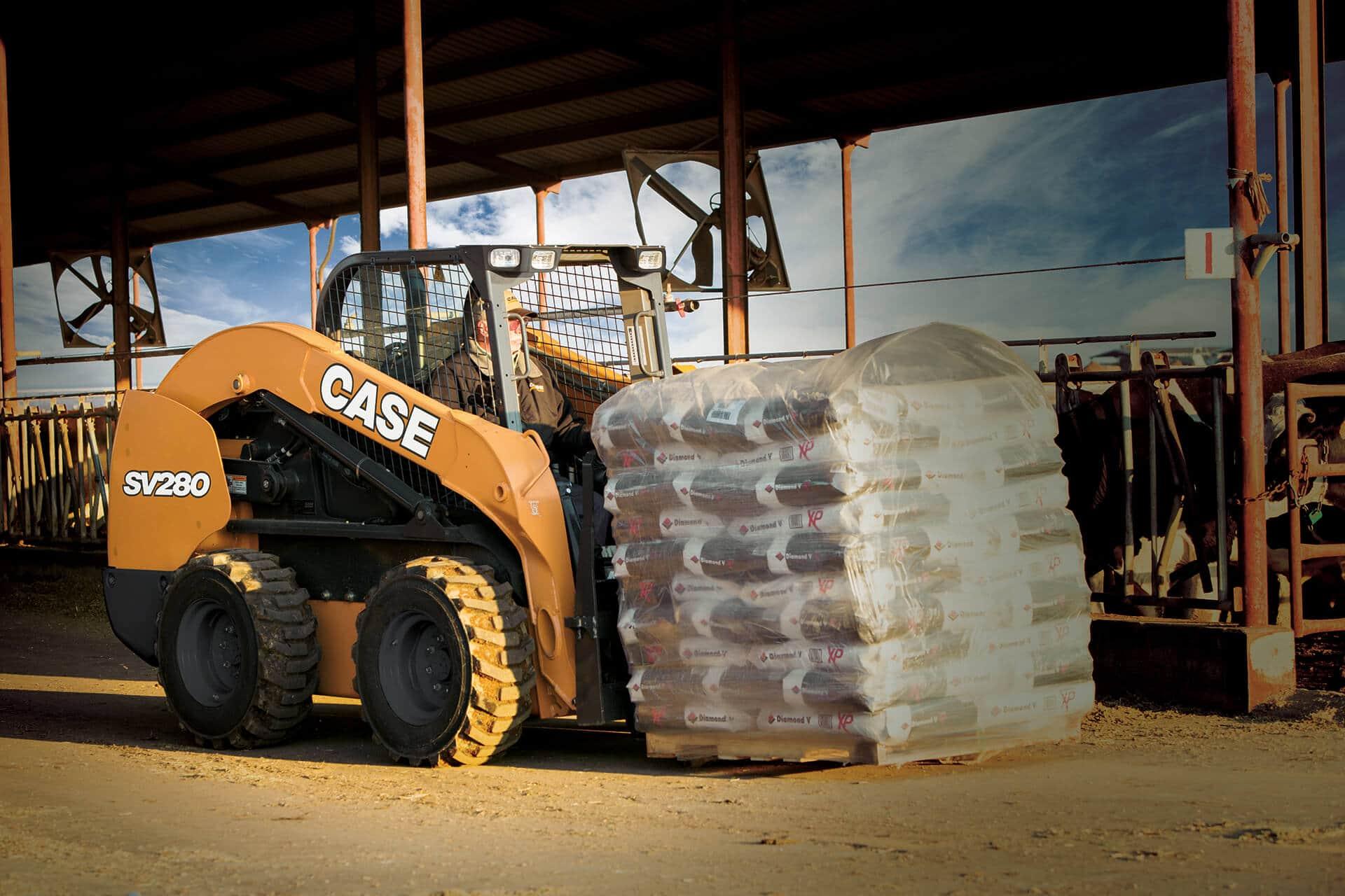 CASE SV280 Skid Steer Loader | CASE Construction Equipment
