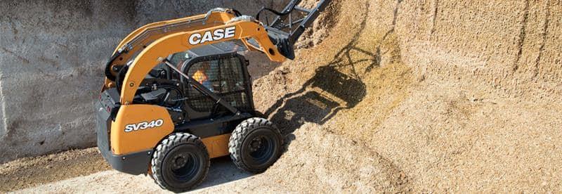 CASE SV340 Skid Steer Loader | CASE Construction Equipment