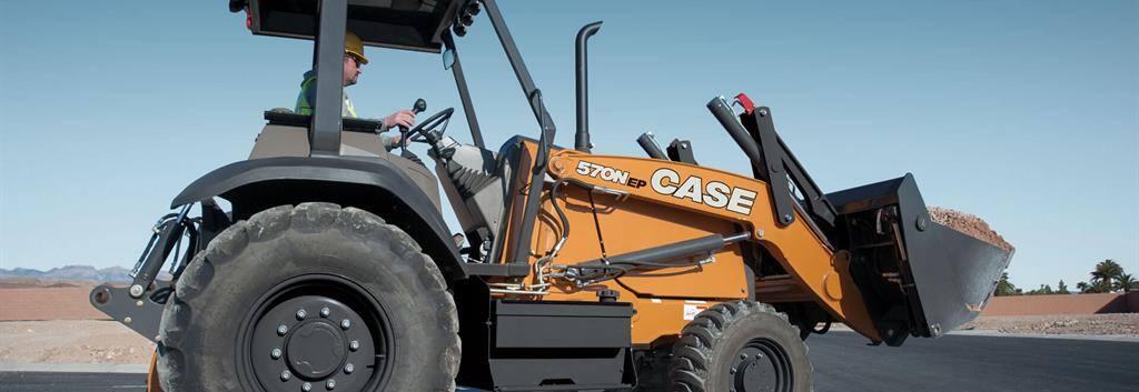 CASE 570N EP Tractor Loader | CASE Construction