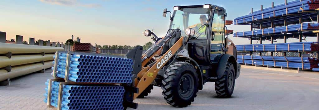 CASE 21F Compact Wheel Loader | CASE Construction Equipment