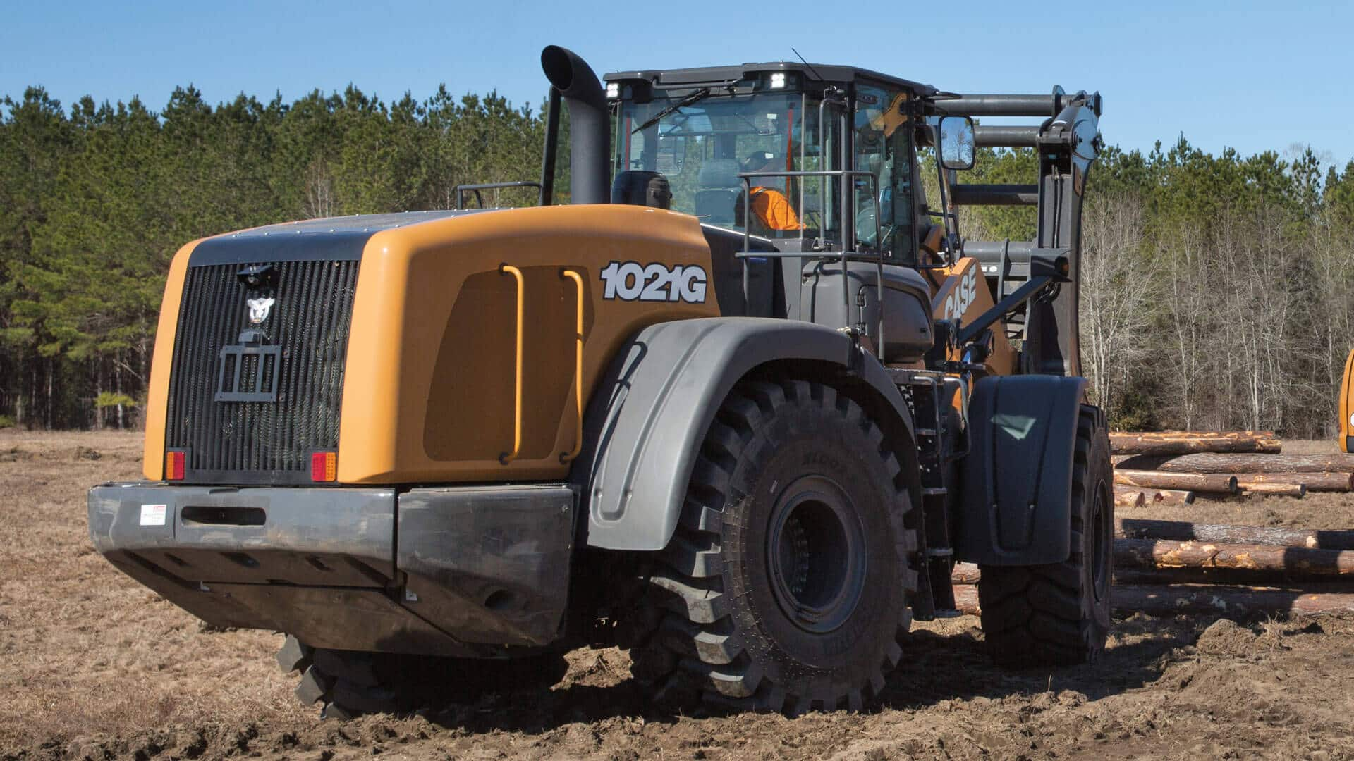 CASE 1021G Wheel Loader | CASE Construction Equipment