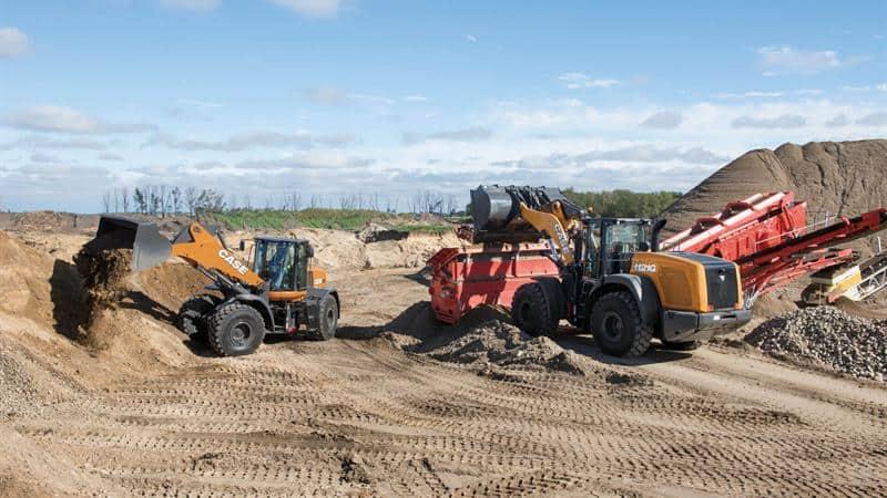 CASE Wheel Loaders | CASE Construction Equipment