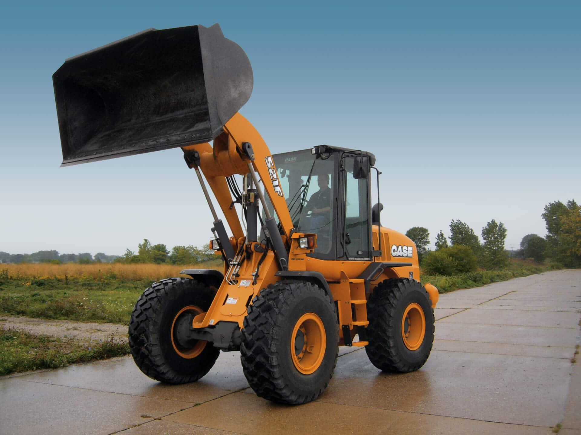 Case Loader Parts : Case f wheel loader construction equipment