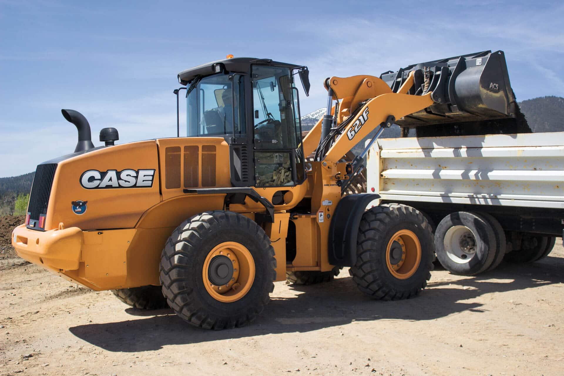 CASE 621F Wheel Loader | CASE Construction Equipment