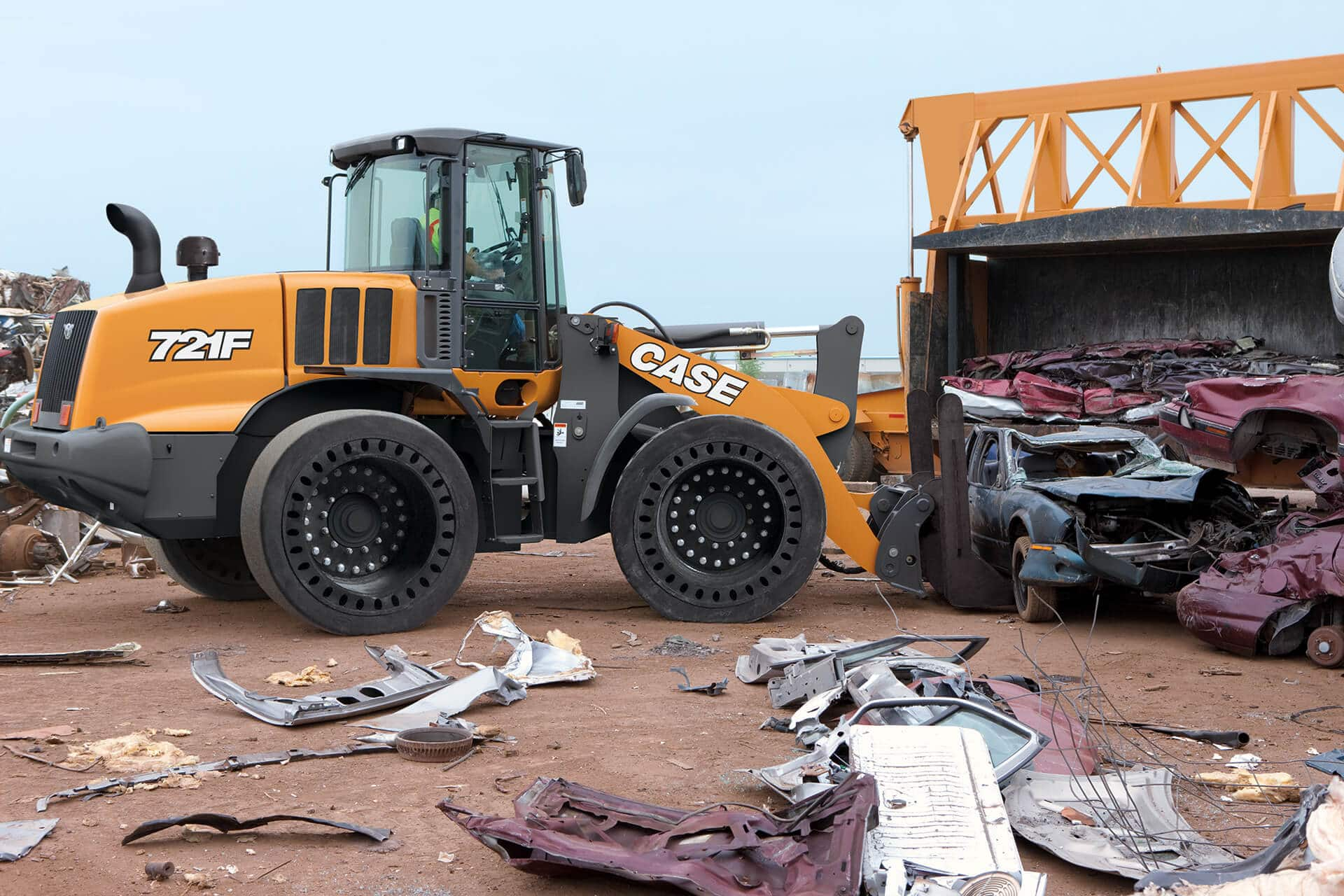 CASE 721F Wheel Loader   CASE Construction Equipment