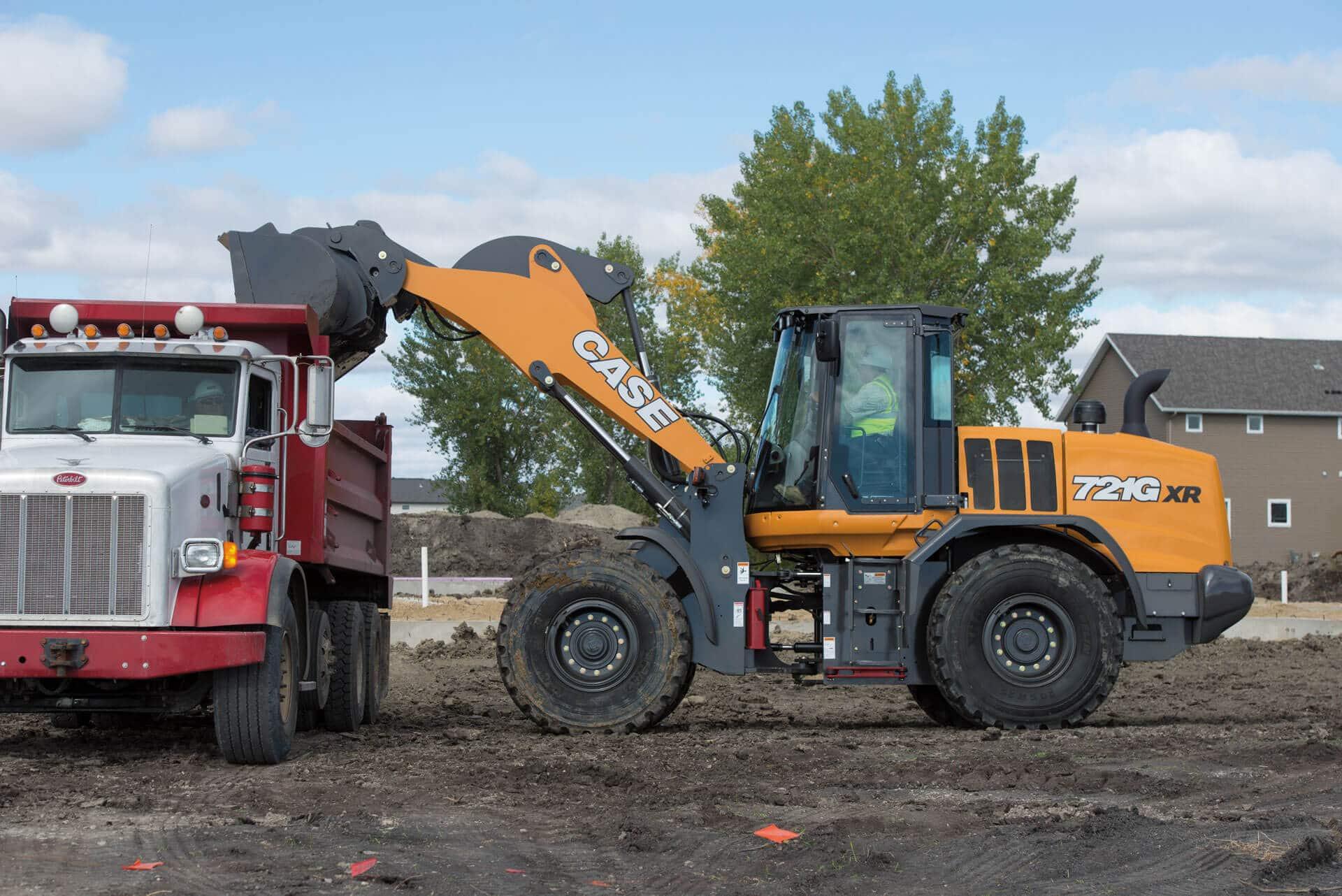CASE 721G Wheel Loader   CASE Construction Equipment