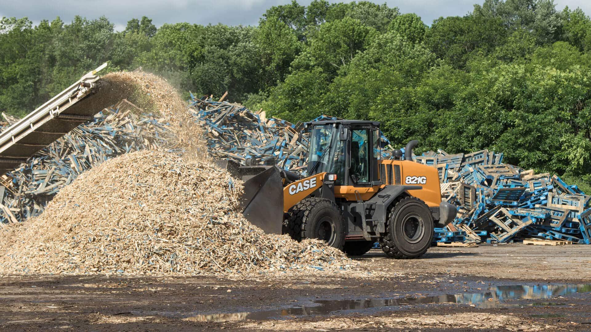 CASE 821G Wheel Loader | CASE Construction Equipment