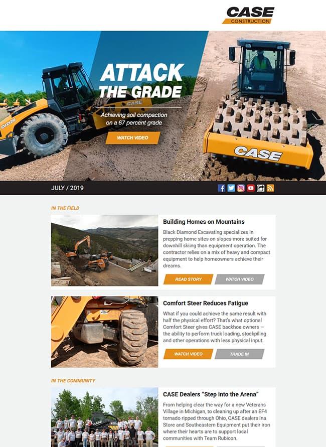 CASE News | Case Construction Equipment