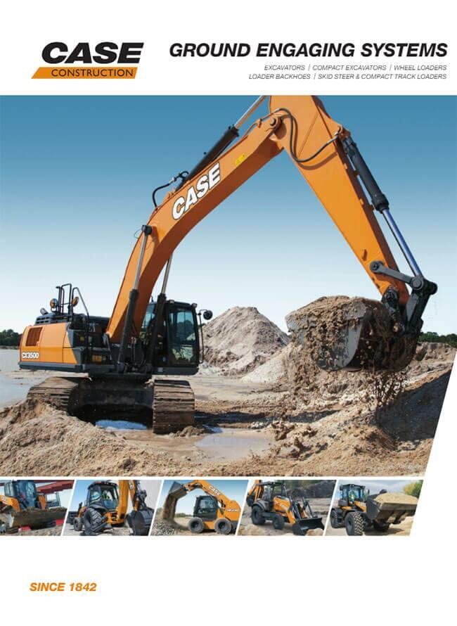 Case Equipment Parts : Parts case construction equipment