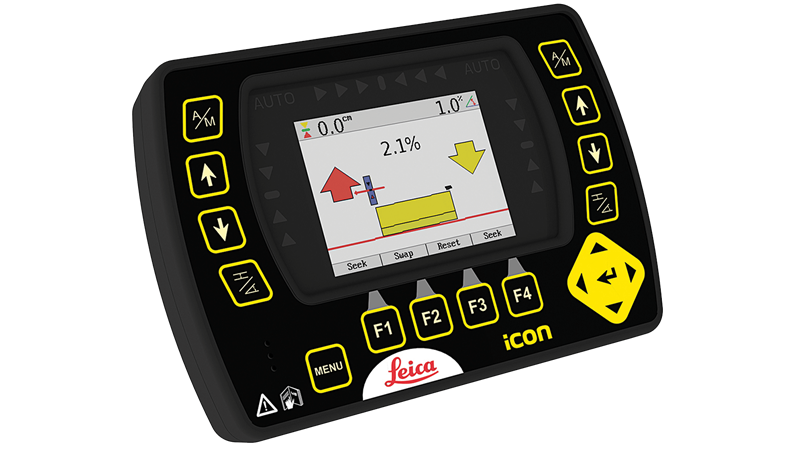 iCON Grade iGSS2 2D System | CASE Construction Equipment