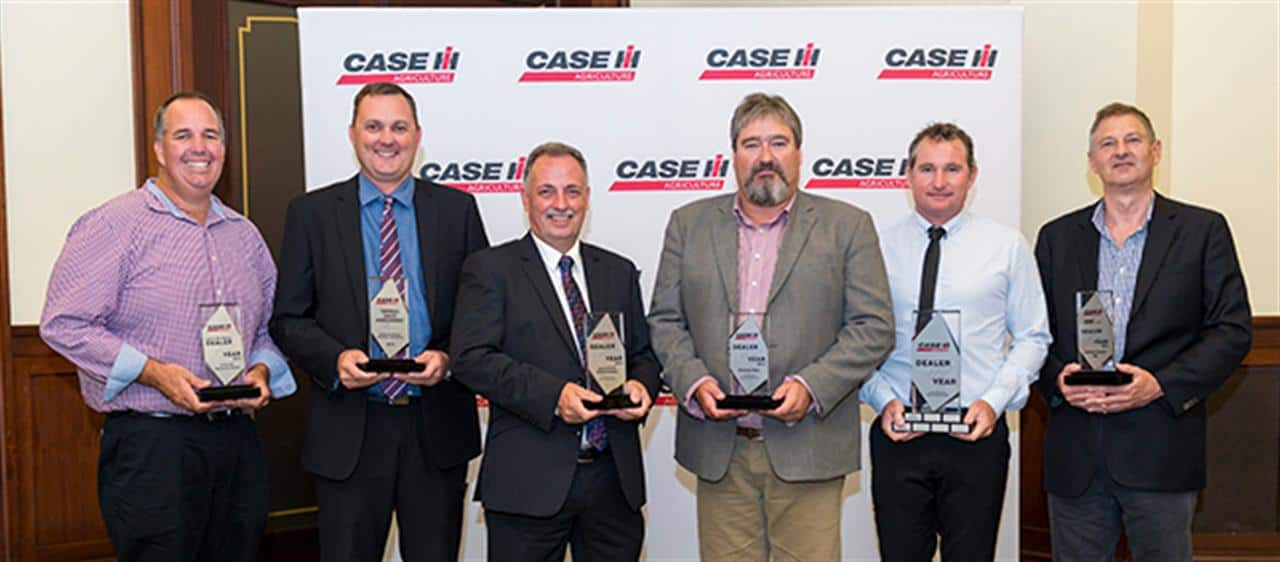 Ramsey Bros and Agricultural Requirements crowned Case IH Dealers of the Year