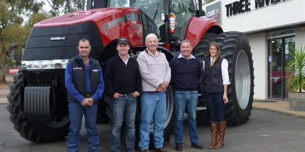 Magnum CVT powers into Trangie NSW