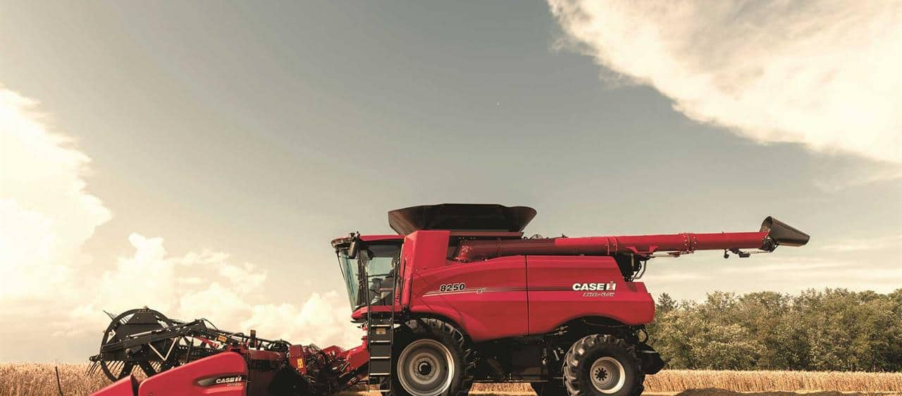 Wimmera plays host to Aussie launch of new Case IH harvesters