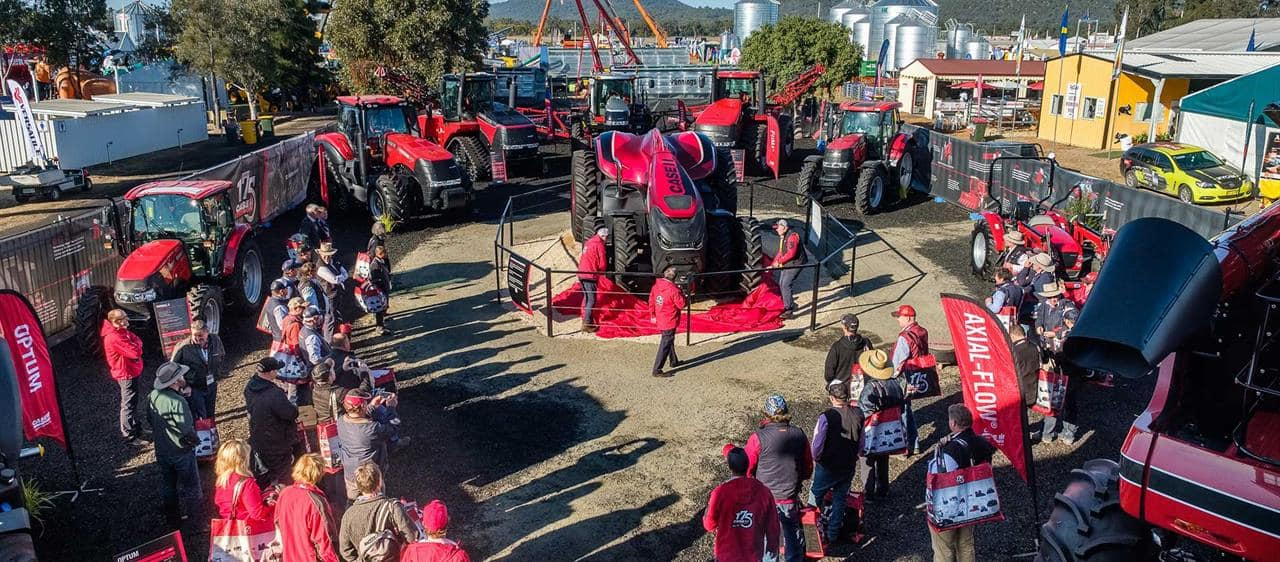 Technology launch headlines another big AgQuip for Case IH