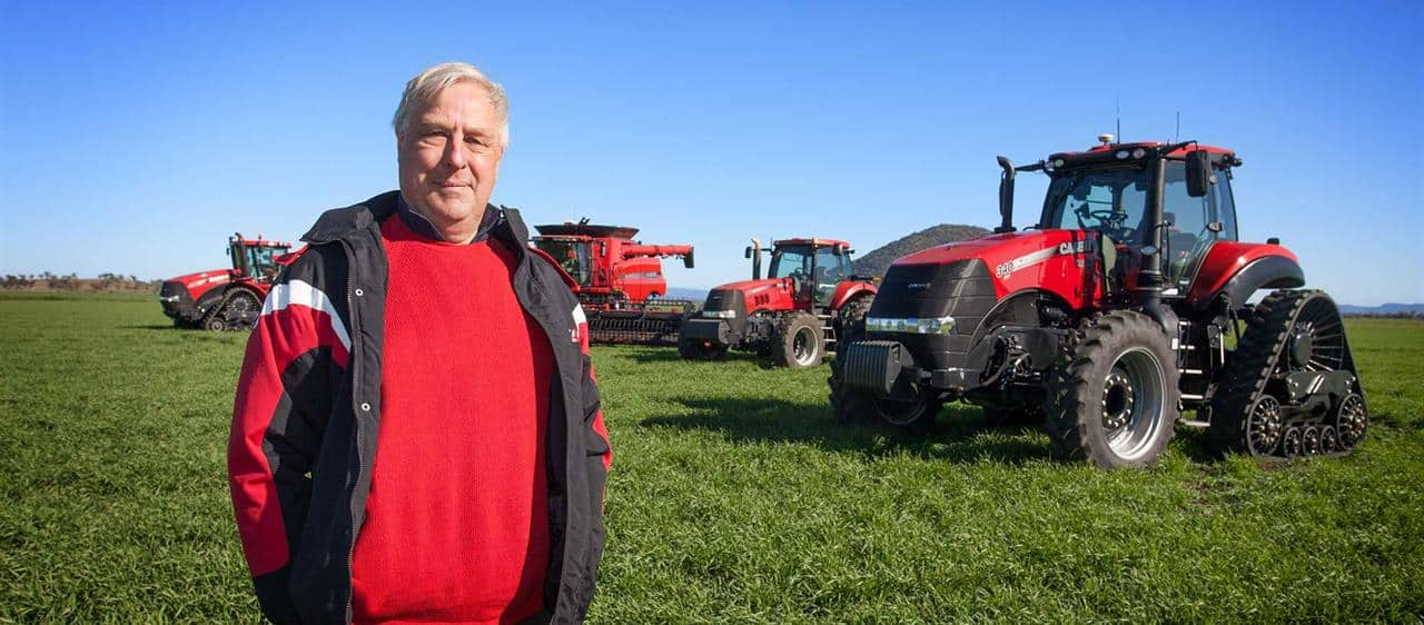 Lambrook goes with Case IH tracks and rotary technology