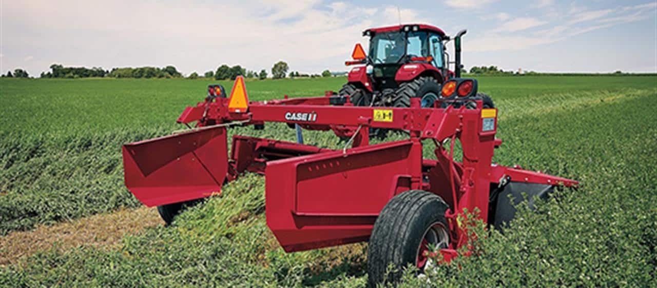 Simplicity and reliability makes new Case IH DC103 a cut above