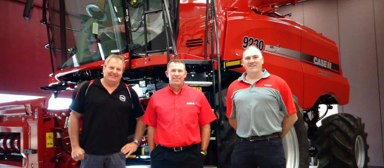 Axial-Flow combine owners back from USA tour of a lifetime