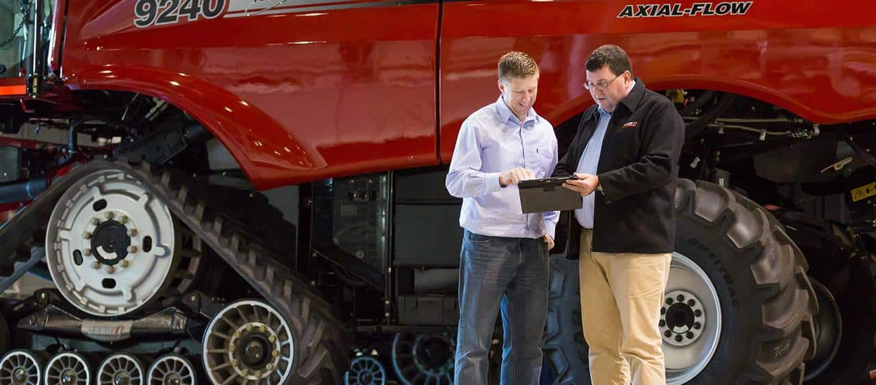New Case IH system lets farmers access equipment data from any device