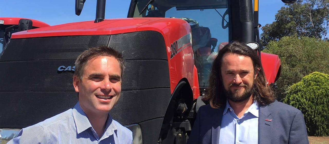 Strengthening of dealer network puts Case IH in driver's seat