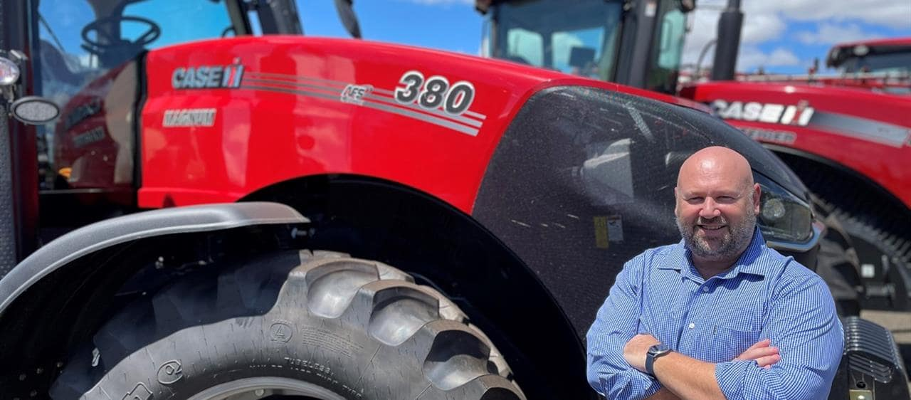 Case IH team expands with focus on new Connect-ions with customers
