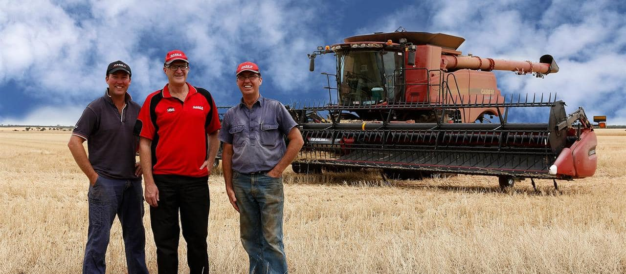 Case IH technology and tradition a good combination
