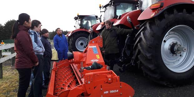 Driver Training for Farming Career Switch