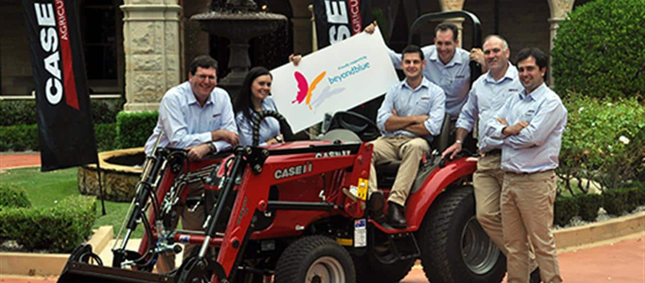 Case IH partners with beyondblue